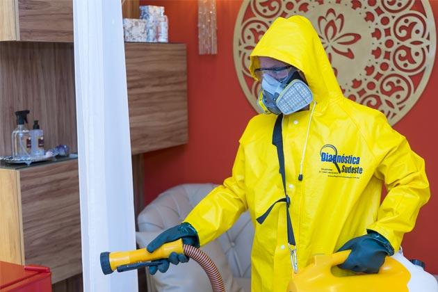 A desinfecção do nosso espaço é uma das medidas preventivas contra o coronavírus
