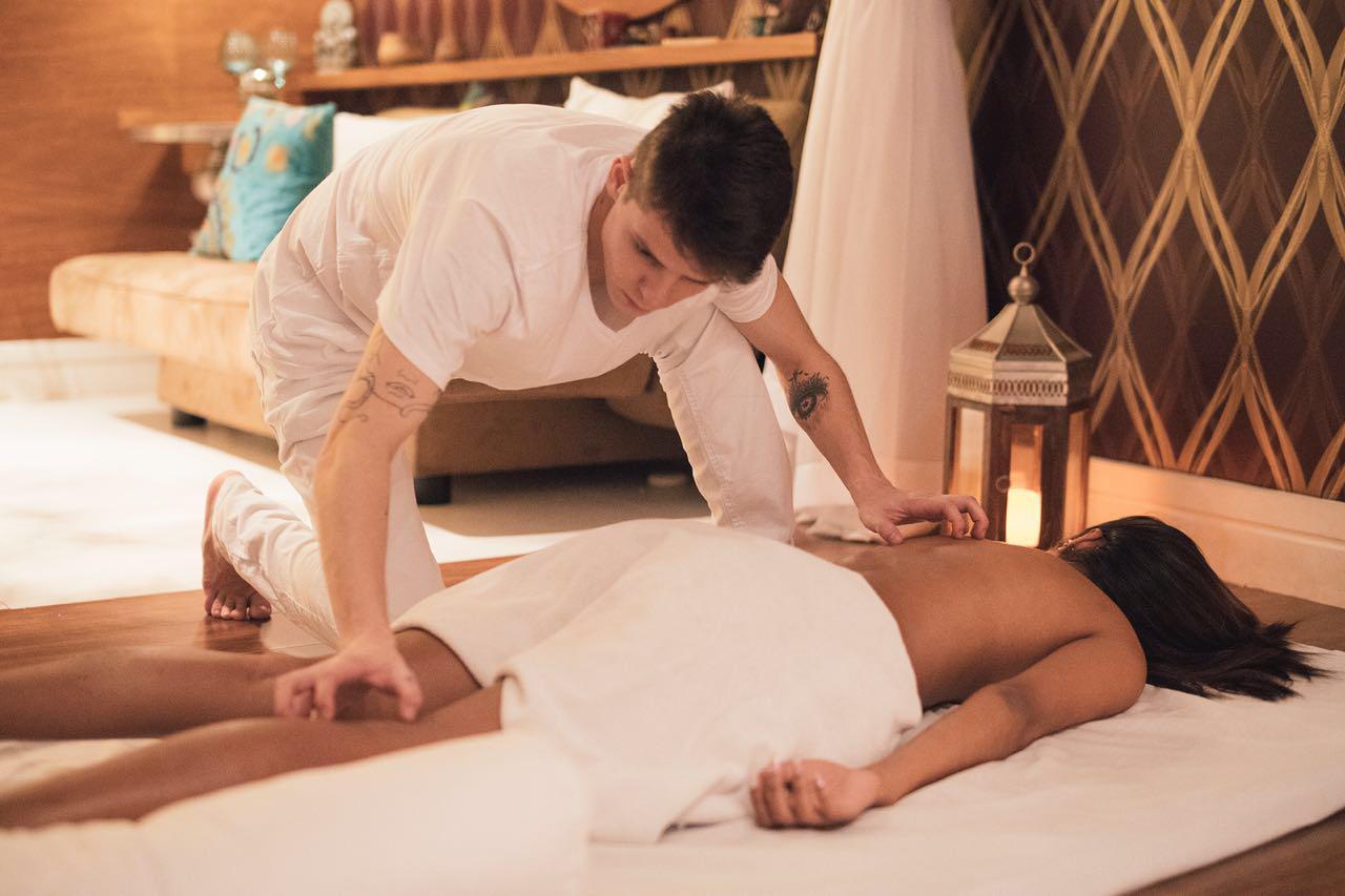 imagem massagista